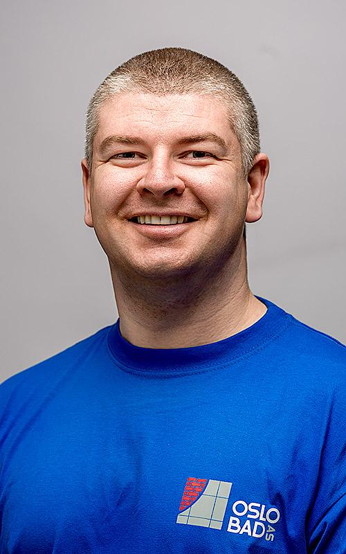Bjørn-Åge Røsand Murmester / Daglig leder Partner i Oslo Bad  Telefon: 920 81 230 E-post:  br@oslobad.no