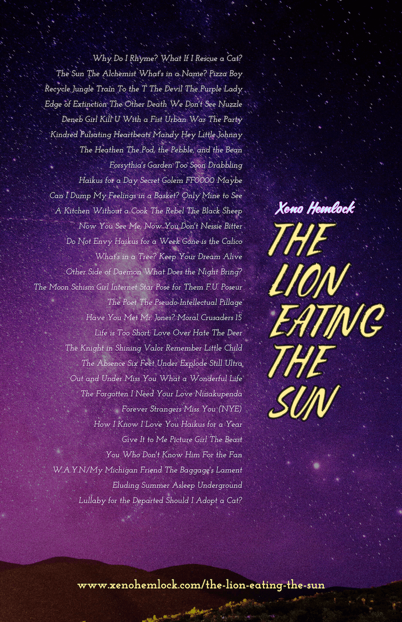 The Lion Eating the Sun Table of Contents.png