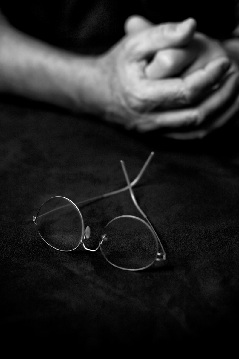 Peter`s Glasses & Hands