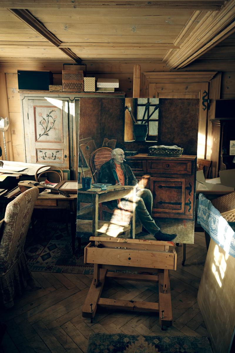 Balthus by Setsuko