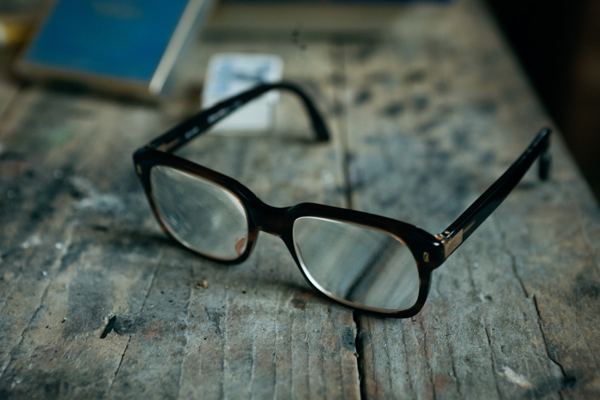 Balthus`s Glasses