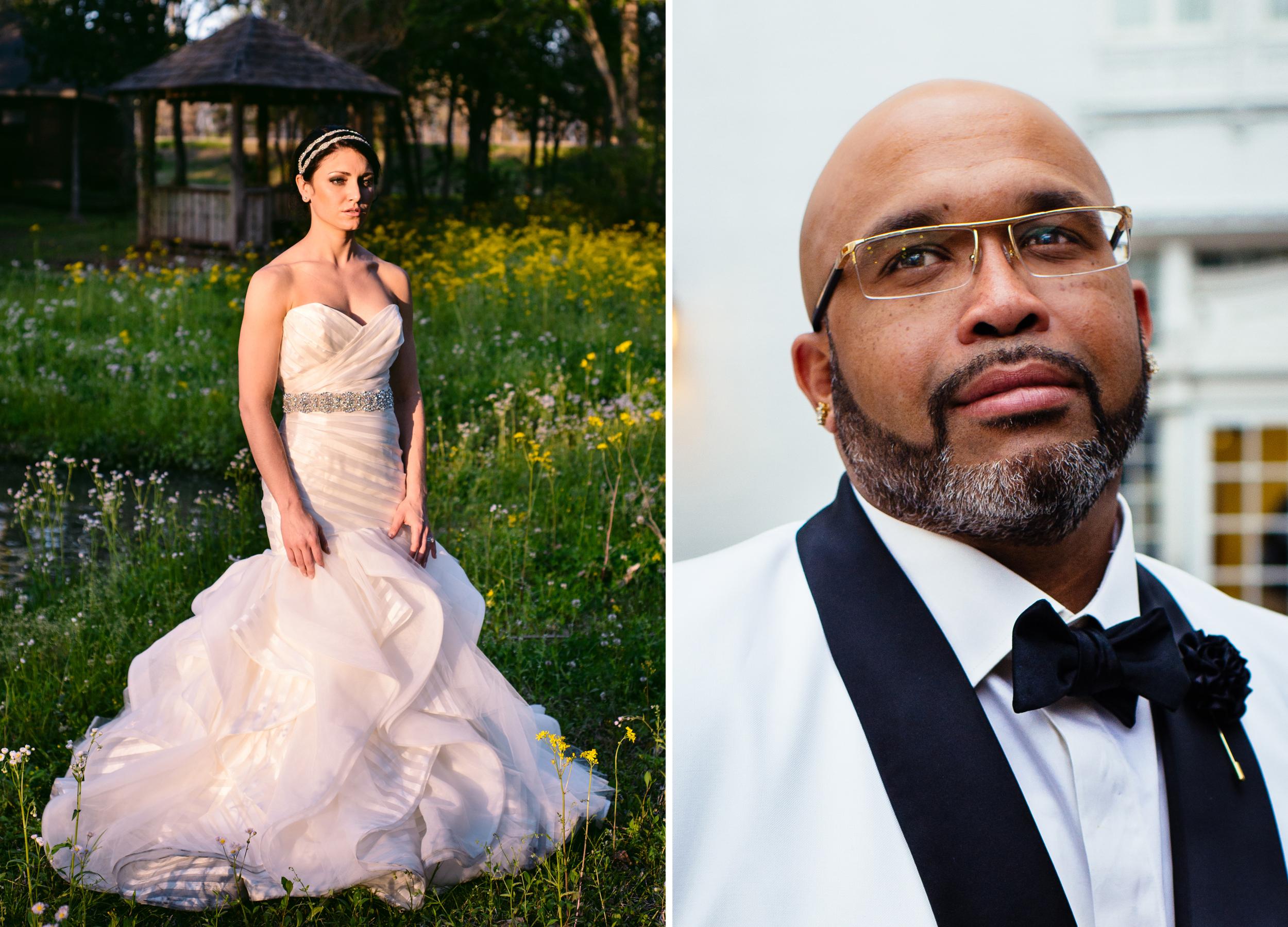 Algiers New Orleans bridal session; Baton Rouge wedding
