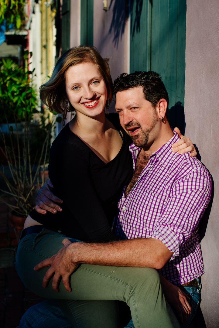 Marigny, New Orleans, Anniversary Session