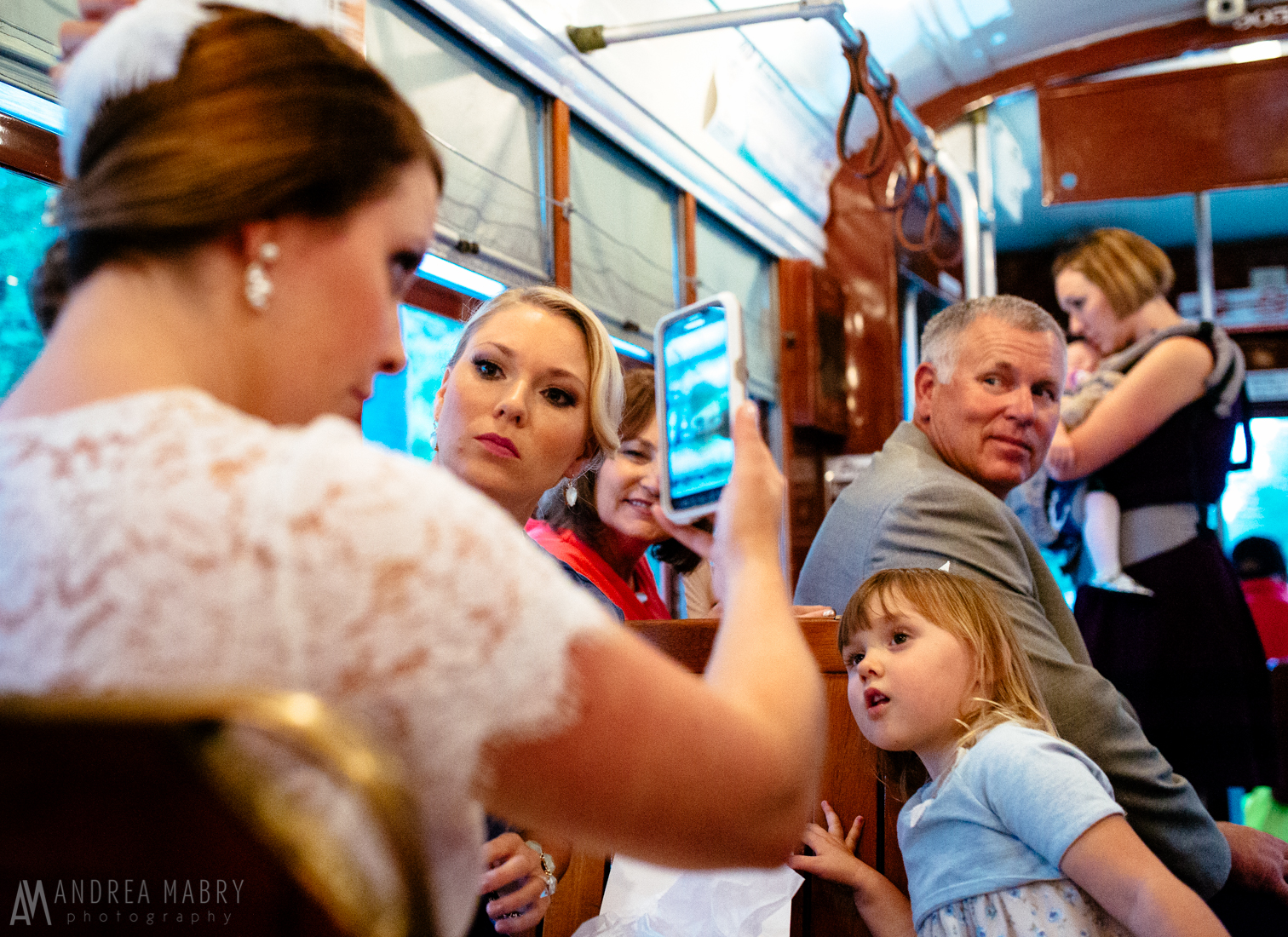 New Orleans St. Charles Streetcar Wedding, New Orleans, Louisiana
