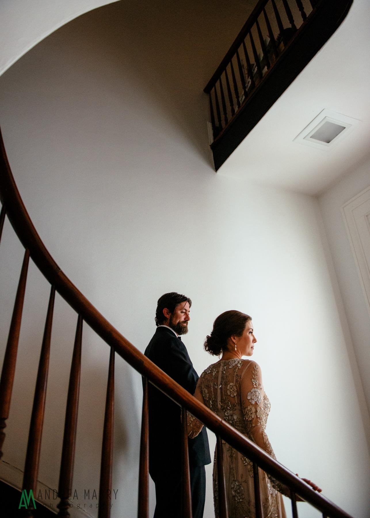 Wedding Portraits.Government Street Presbyterian Church Mobile Wedding. Andrea Mabry Photography.