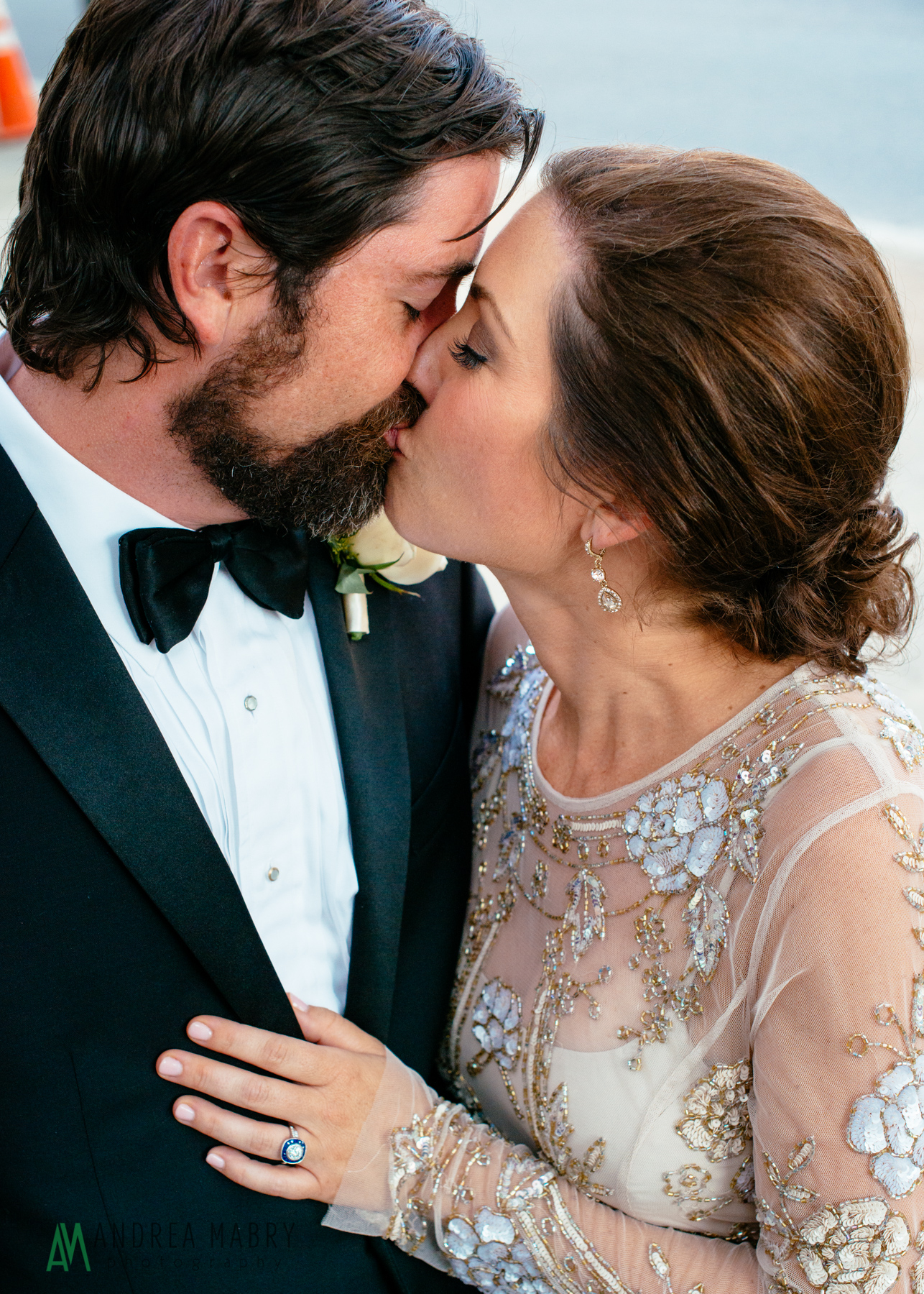 Wedding Portraits.  Government Street Presbyterian Church Mobile Wedding. Andrea Mabry Photography.