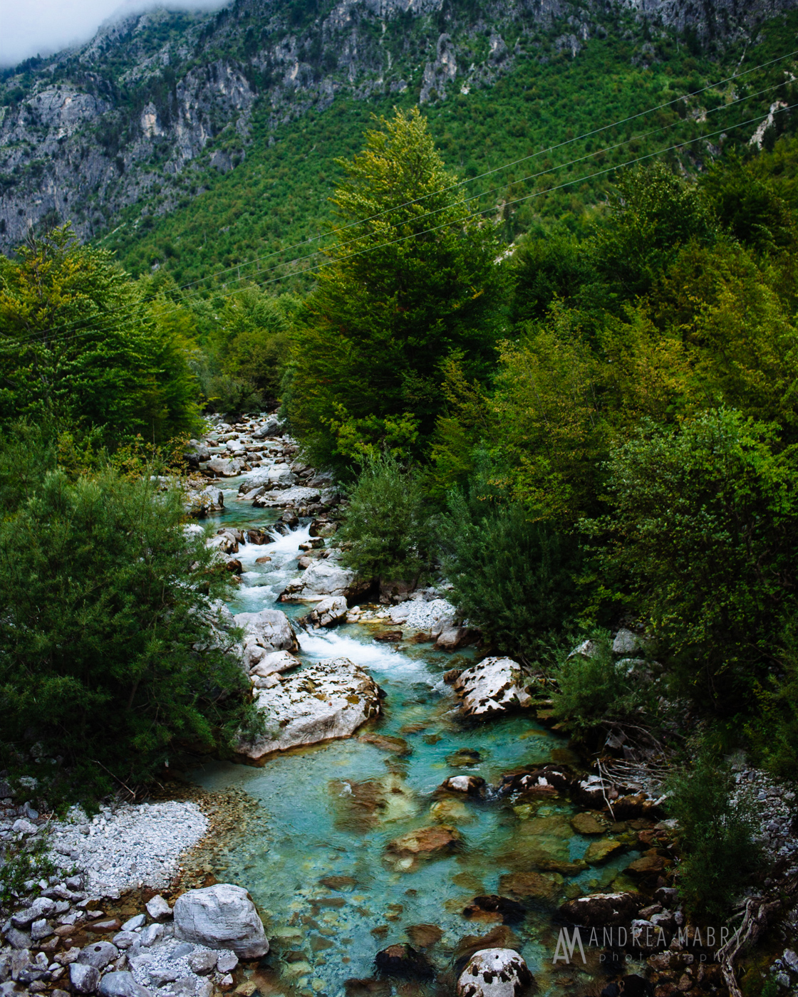 Every body of water we saw in Albania was some crazy variation of blue-green.