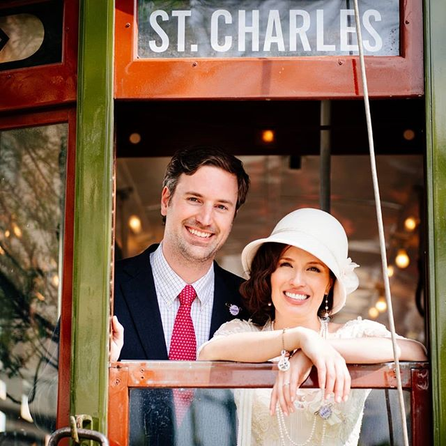 Christi and Peter celebrated their first wedding anniversary this past weekend! Congratulations, y'all!!! #neworleanswedding #streetcarwedding #neworleansweddingphotographer #weddingphotojournalist #weddingphotojournalism #wpja #birminghamweddingphotographer
