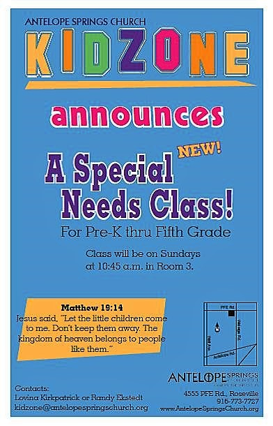 Click the image to go to the KidZone page on the Antelope Springs Church web site.