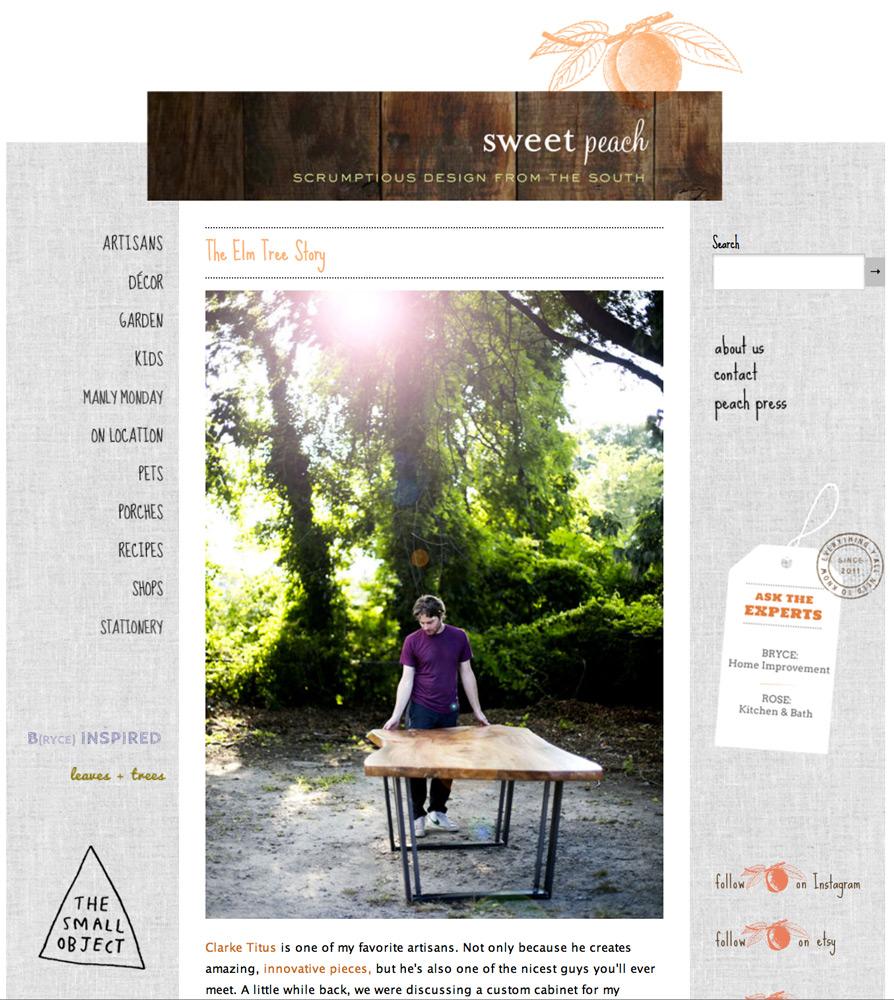 Sweet Peach Blog