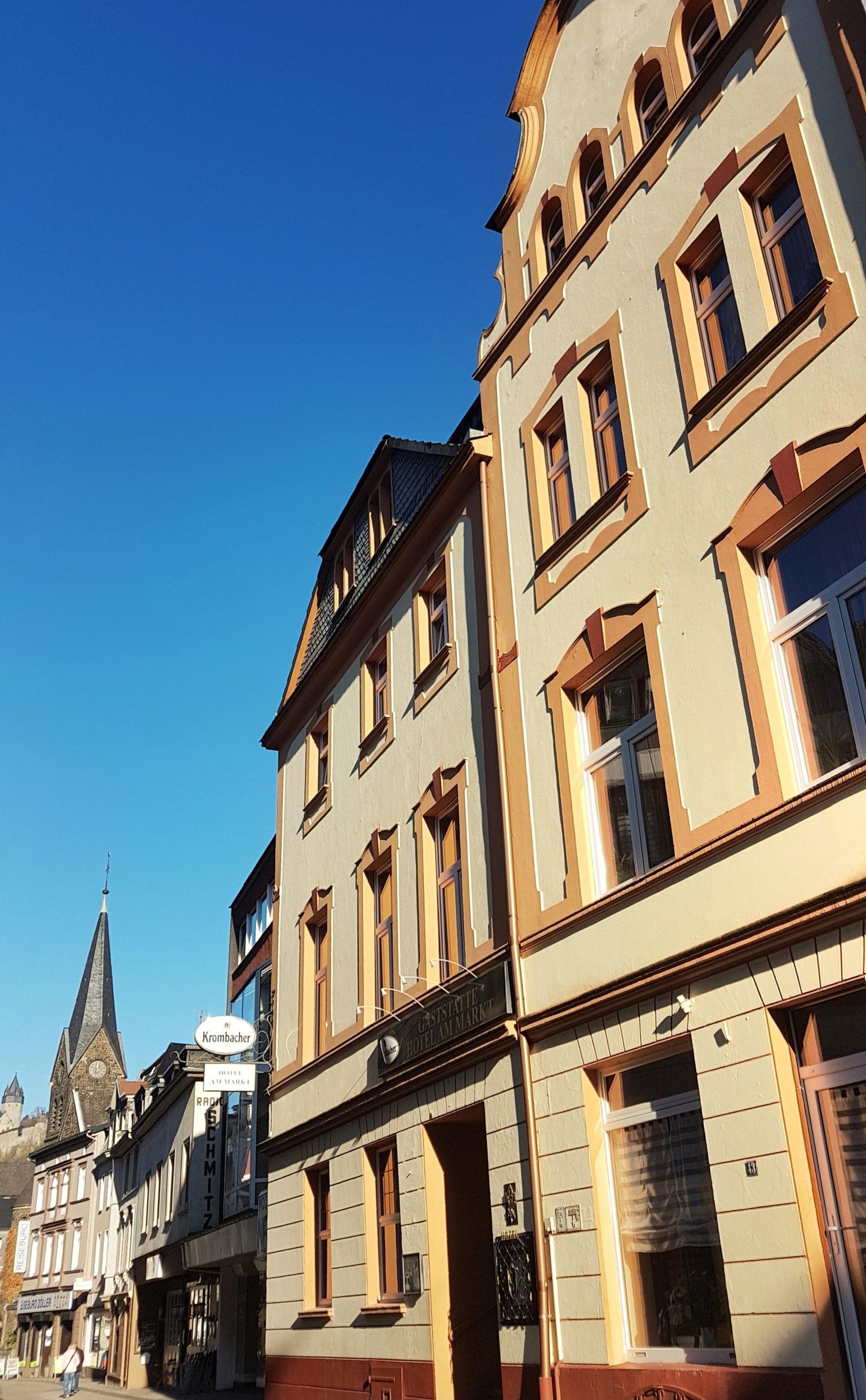 Hotel am Markt mit Burg Altena