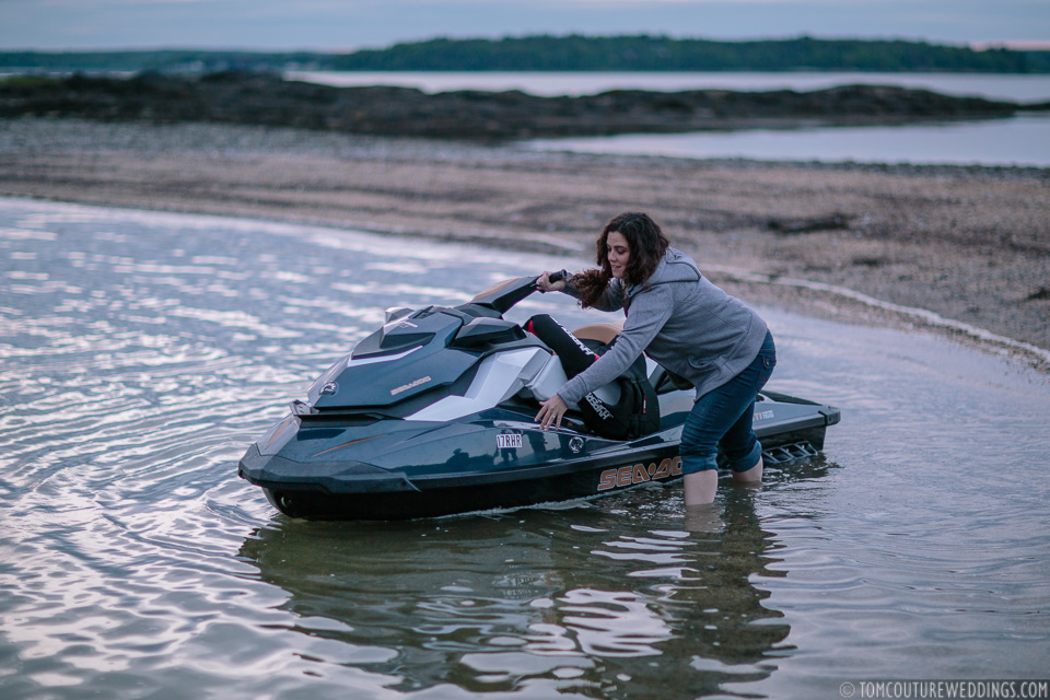Wait guys, I thought it was just a dream that a jet ski had washed ashore?!