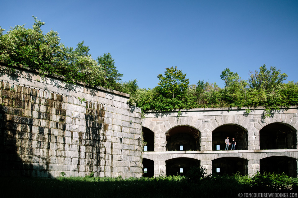 Fort Gorges? More like  Fort Gorgeous !
