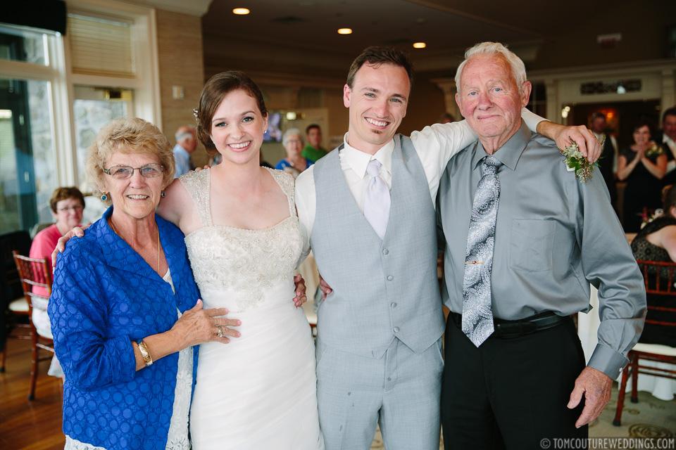 Longest married; just married.