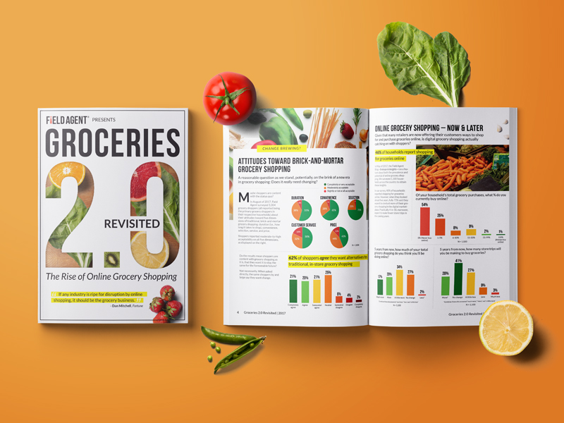 Field Agent Groceries 2.0 Report Magazine