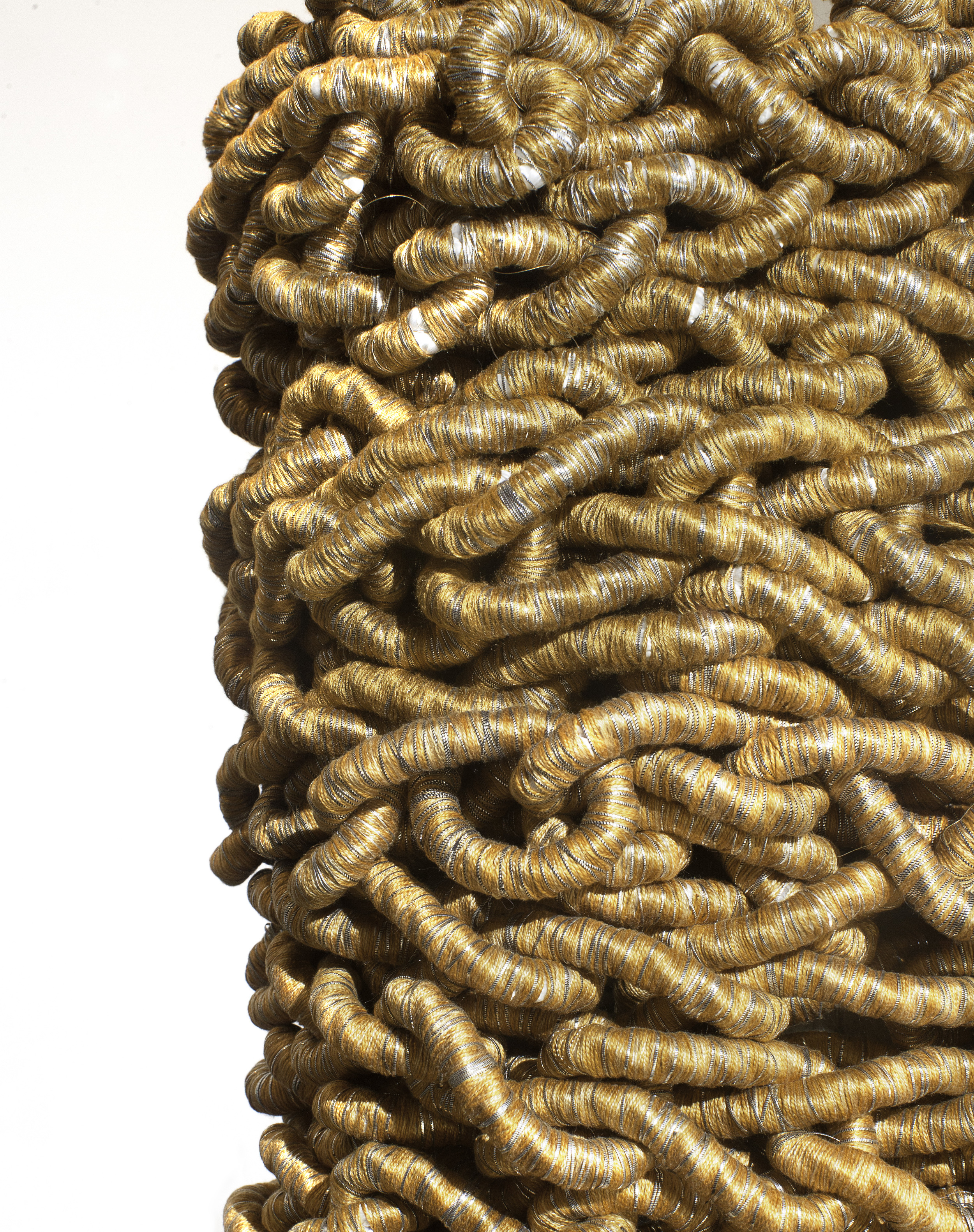 Gold Cloak for Sisyphus (detail)