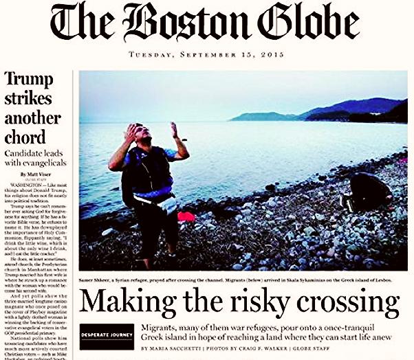 Review in the Boston Globe (2015)