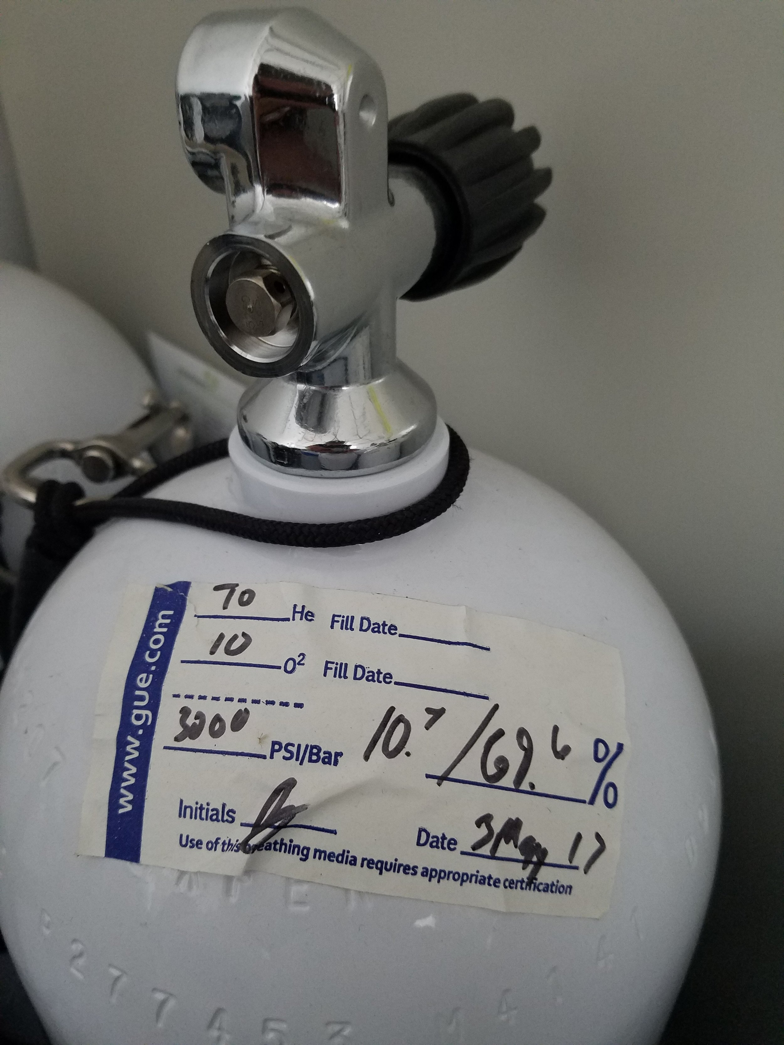 A simple procedure that takes mere seconds could save you from switching to the wrong gas at the wrong time or sharing the wrong gas with your team member should a need arise