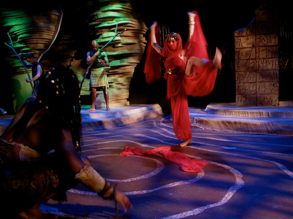 Woman of Red Sashes in Gilgamesh at Constellation Theater