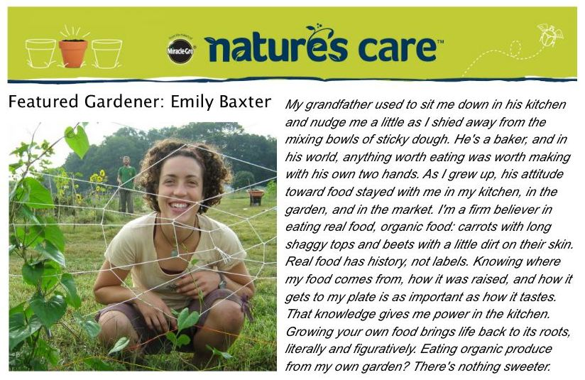 Web copy written for Nature's Care new product launch.