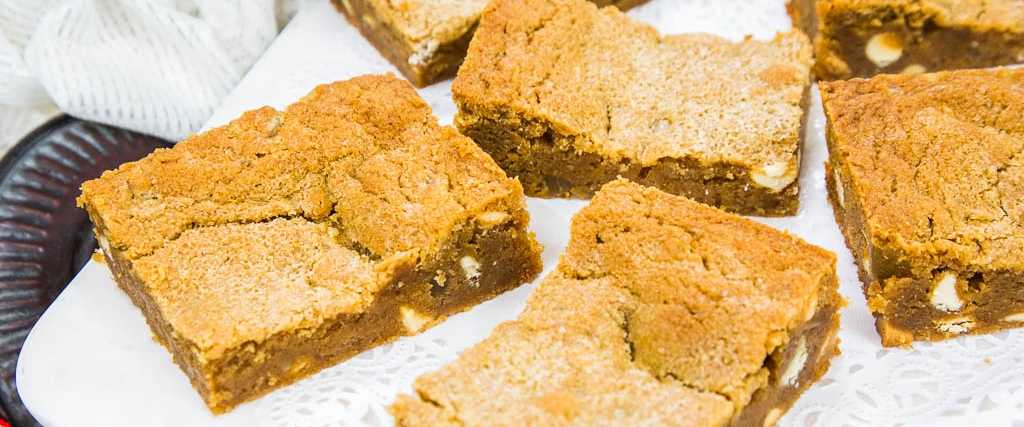 Ginger Blondies