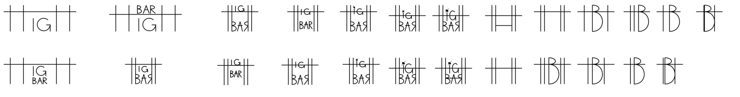 Logo development process