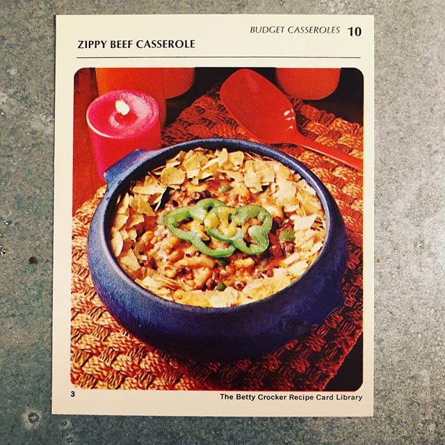These retro recipes have remarkably overlapping ingredient lists. Brava on the endless variation @bettycrocker