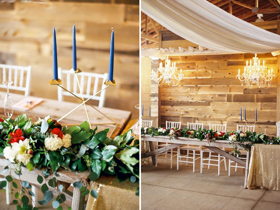 Thousand Hills Ranch wedding