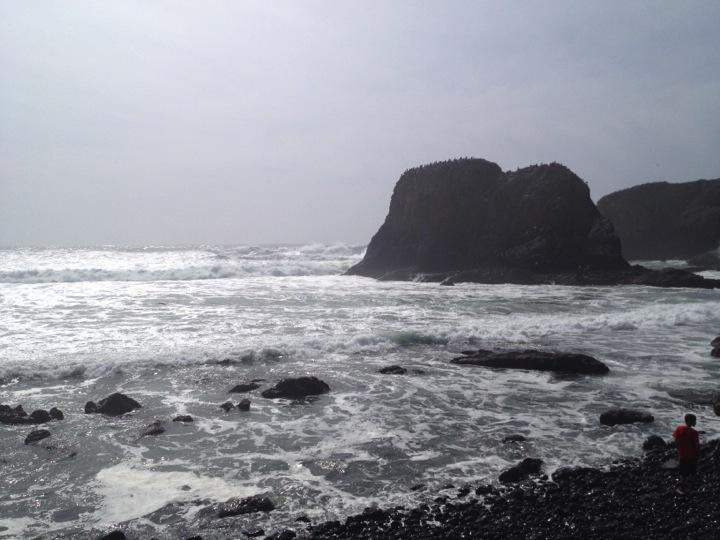 Yaquina Beach, Oregon
