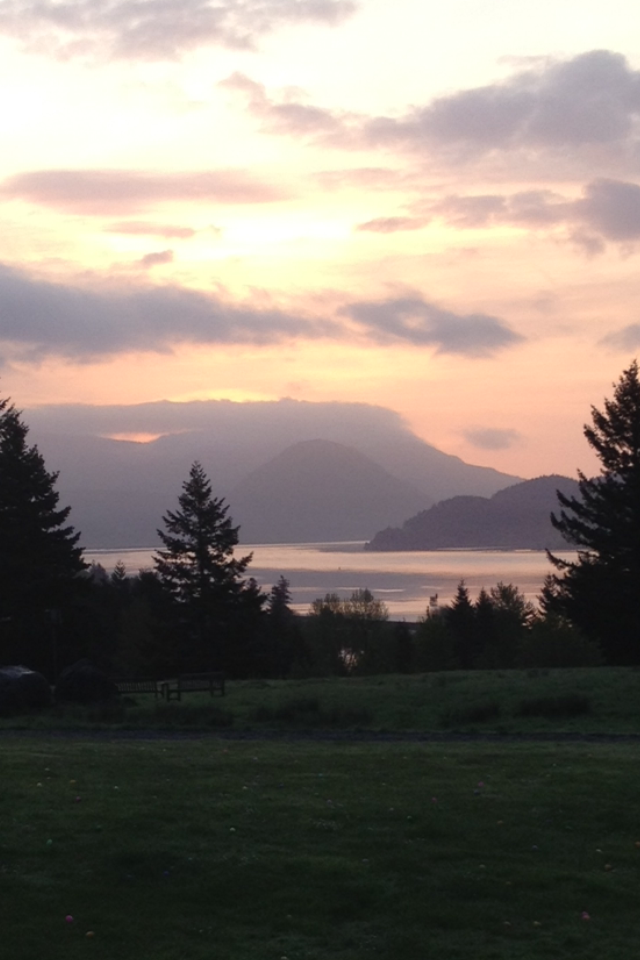 Columbia Gorge, Easter morning 2014