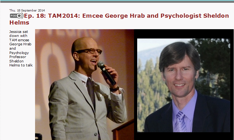 Friendly Atheist Podcast:   CLICK HERE   to hear Jessica Bluemke interview me with George Hrab at The Amazing Meeting 2014.