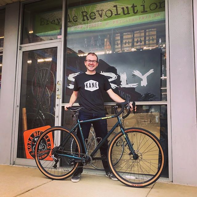Happy #newbikeday!  There is still one more size 52cm @konabikes #konasutraltd left at the super close-out price of $1539.30!  Don't miss out! • • #konabikes #konasutraltd #phillybikes #bikephilly #bikephl #gravelbike #dropbarmtb #storeclosing