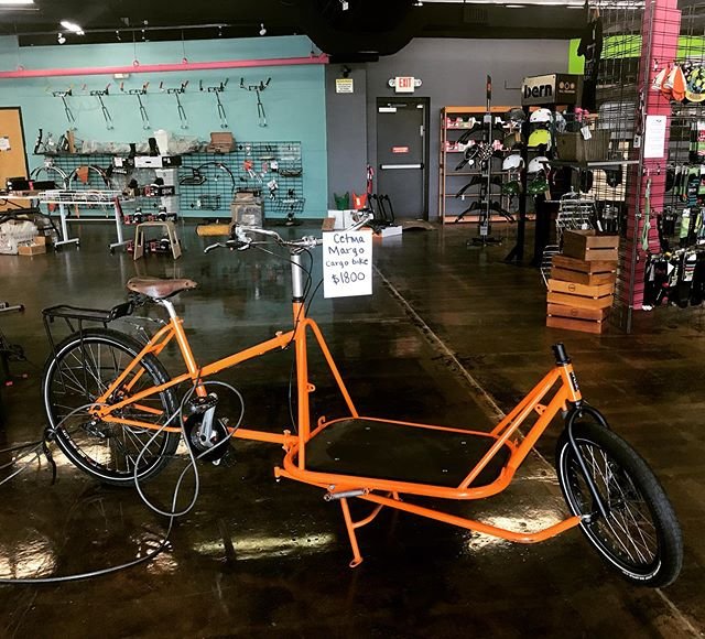 We are parting with our amazing cetma Margo cargo bike for just $1800! Oh the places you'll go…