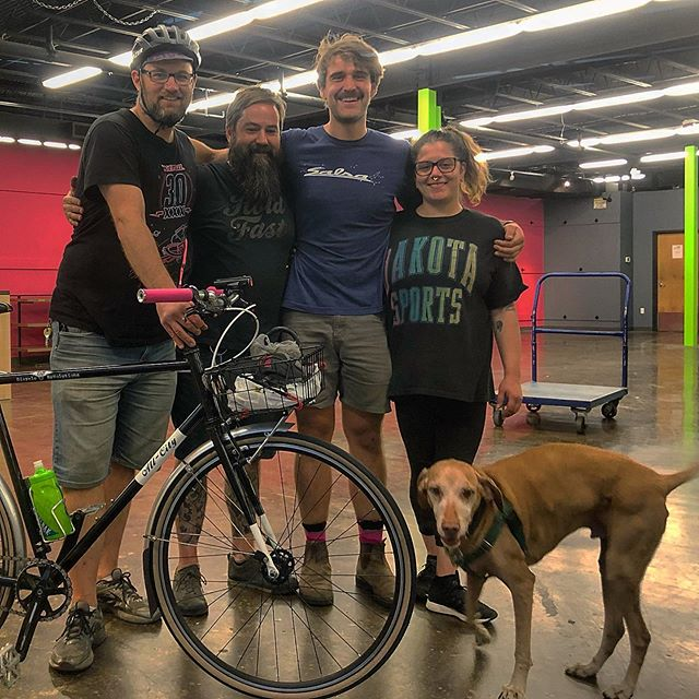 Damn good crew, thanks so much for sticking it out to the finish line. It's not the end, just new beginnings. ❤️Charlie, Will, Jess Lazlo & Ziggy (too scared for the photo) great job 👏🏻