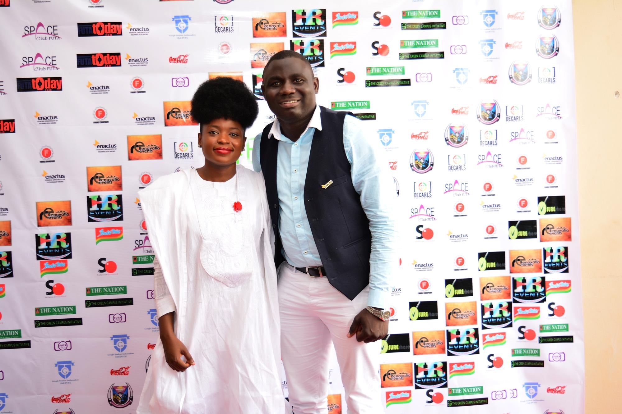 Adenike Akinsemolu and Toluwani Kolawole
