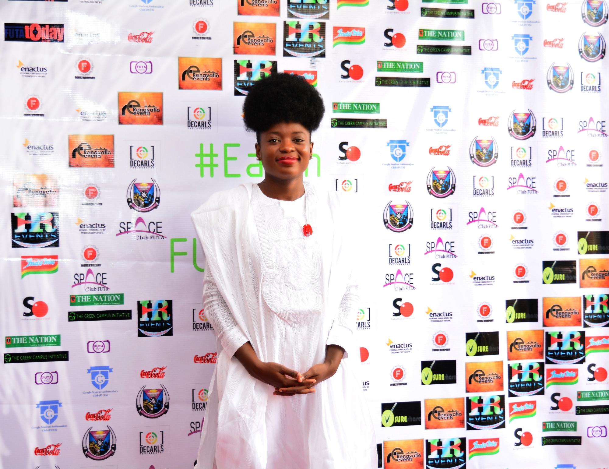 Adenike Akinsemolu (Founder, Green Campus Initiative)