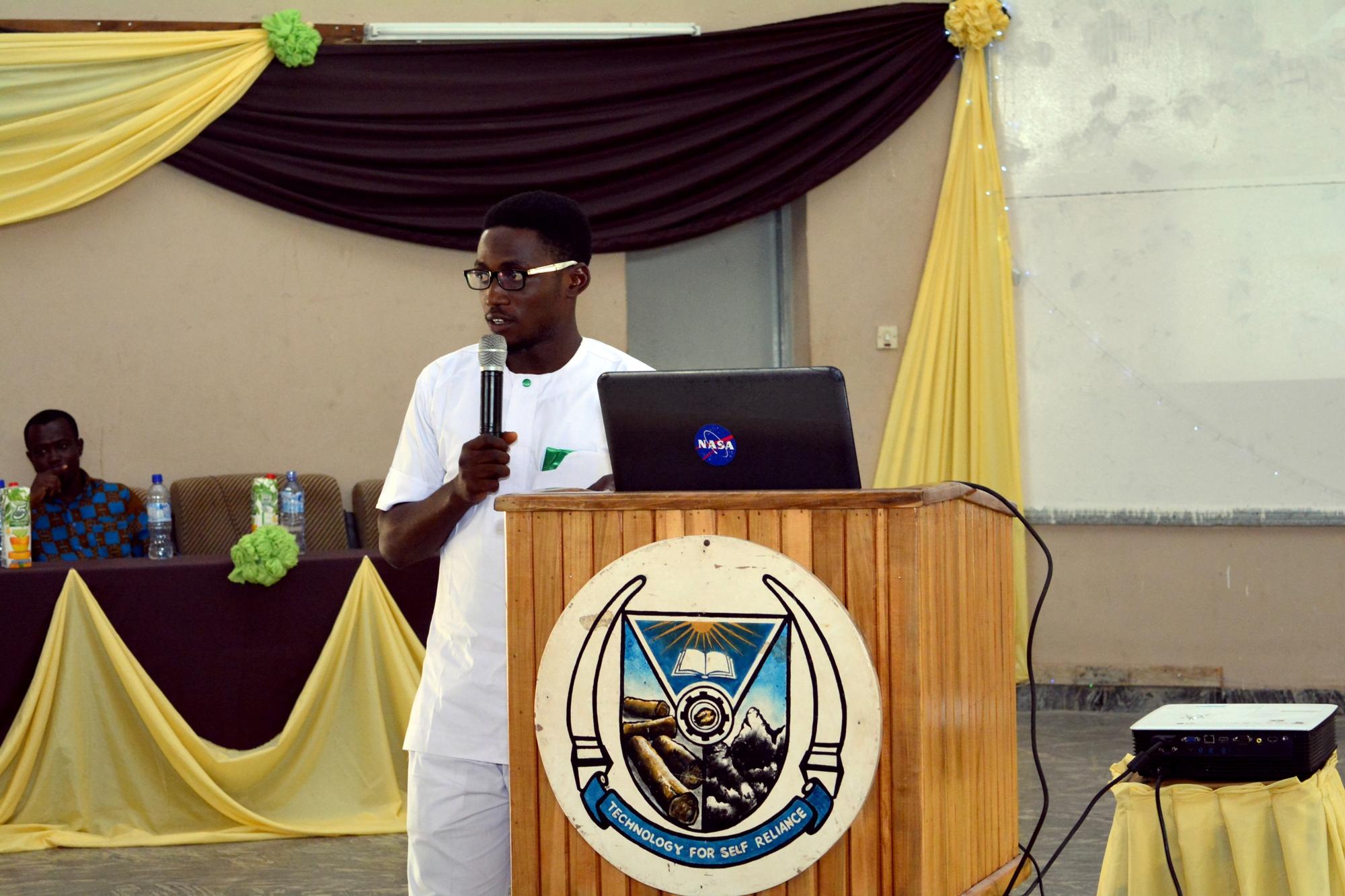 Olayinka Ojo (Minister of Innovation and Social Entrepreneurship, GCI)