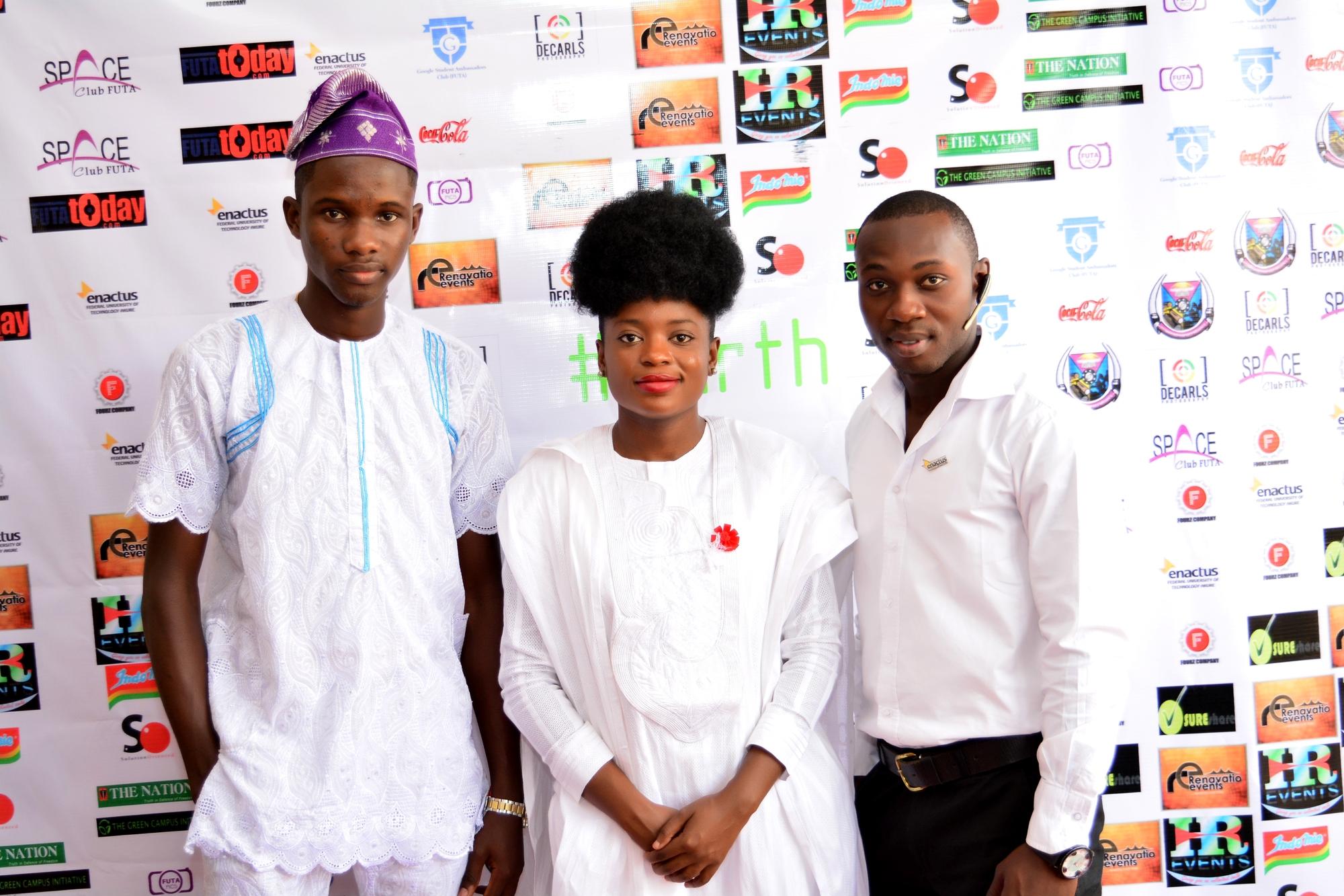 Adenike Akinsemolu and Participants