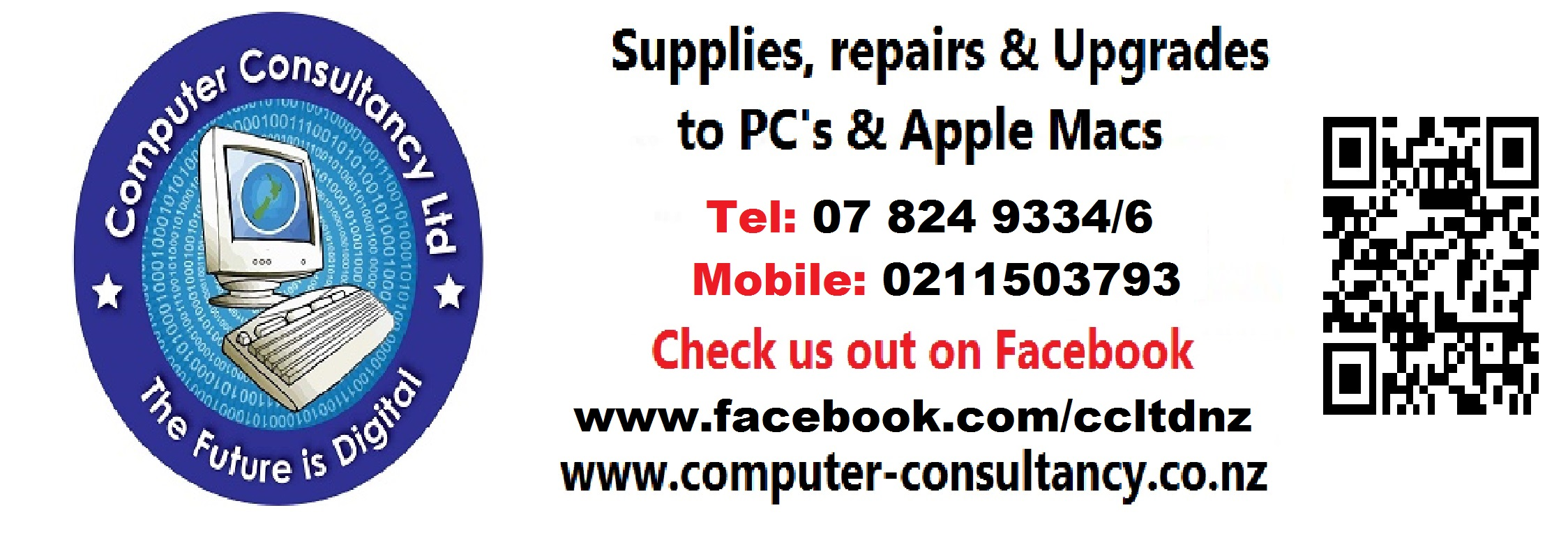 The trust would like to thank the team at Computer Consultancy for there on going help and support.