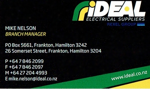 The Trust would like to thank Mike and his team at IDEAL Electrical for being a major sponsor to the Port Waikato School Camp.
