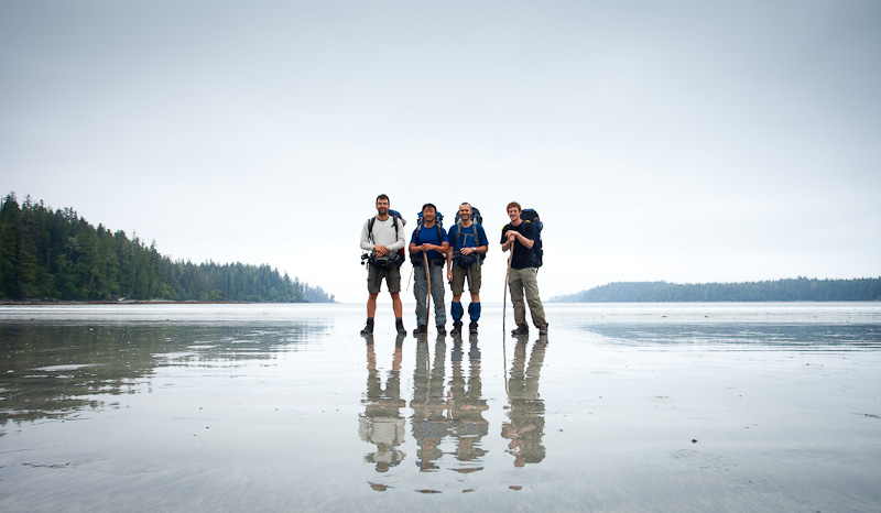 West Coast Trail km 0