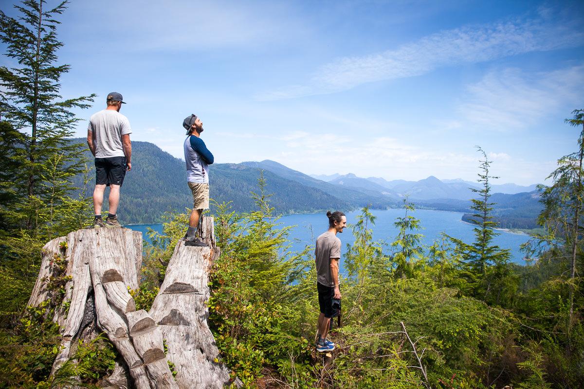 Viewpoint over Nitinat Lake