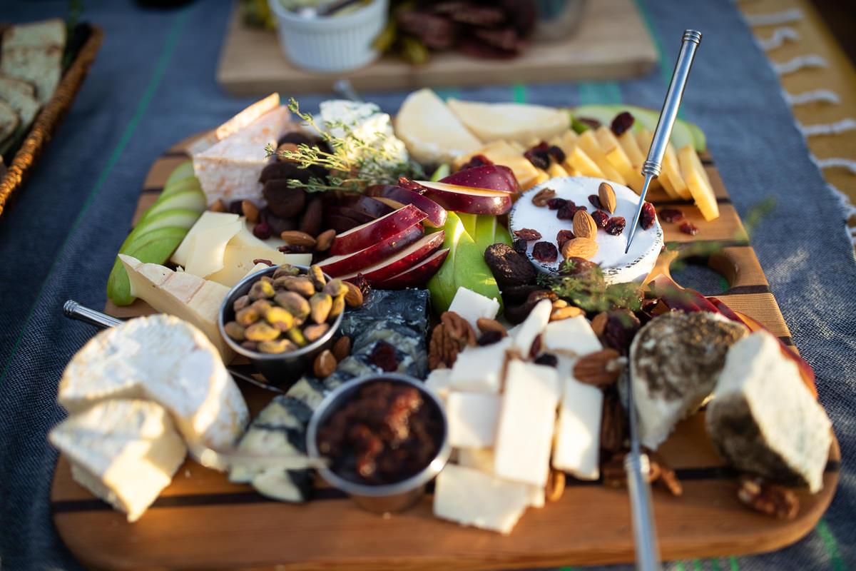Wine and cheese night 🤤