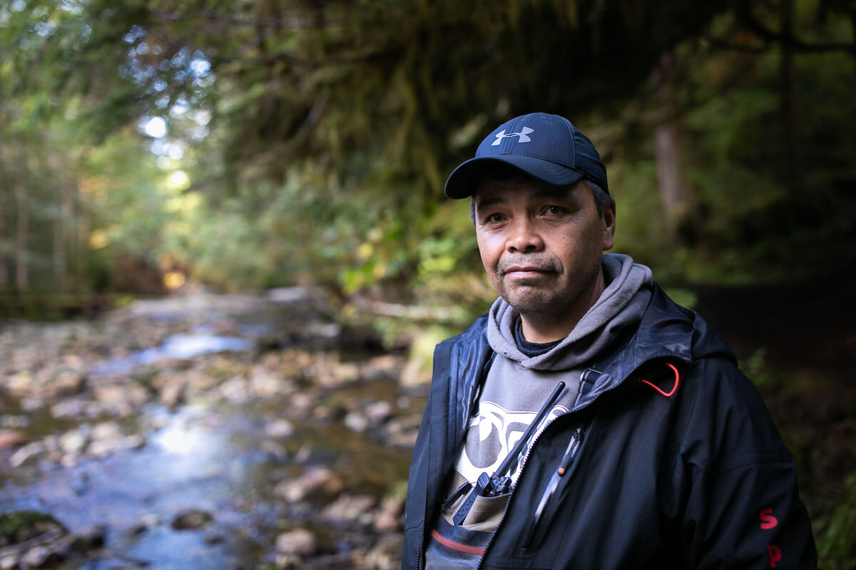 Gitga'at First Nation guide, Marven Robinson