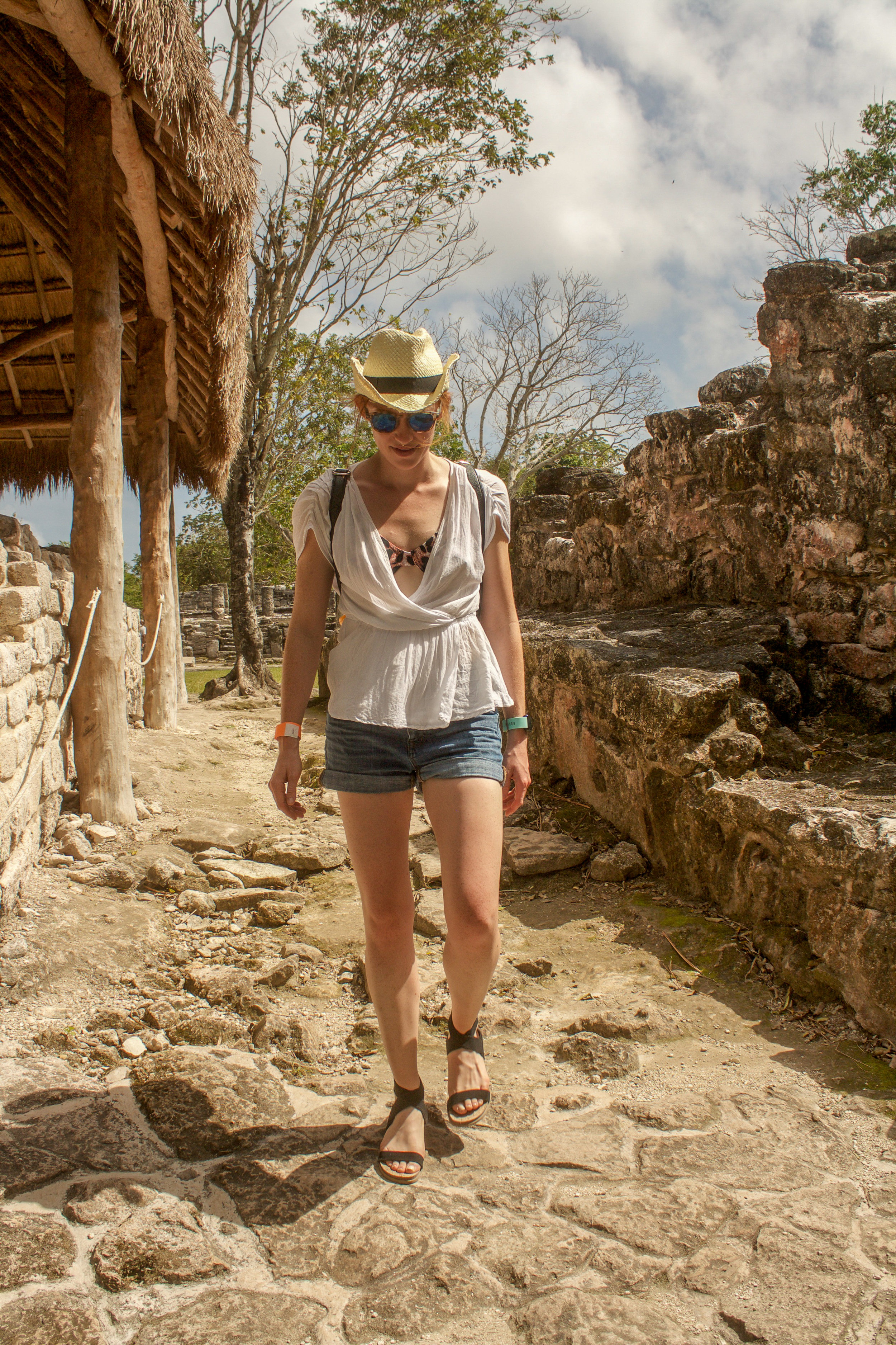 Tip Numero Tres - Unless you're a massive Mayan history buff, forego the guided tour at San Gervasio. Grab a map, wander around, and absorb the information on the plentiful signs detailing the history of the structures. You can easily see the highlights here in about an hour's time.