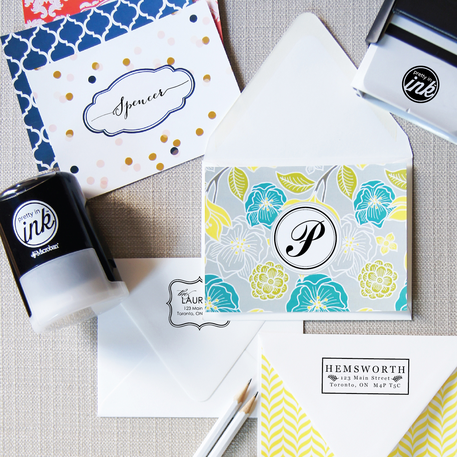 Pretty In Ink Stamps
