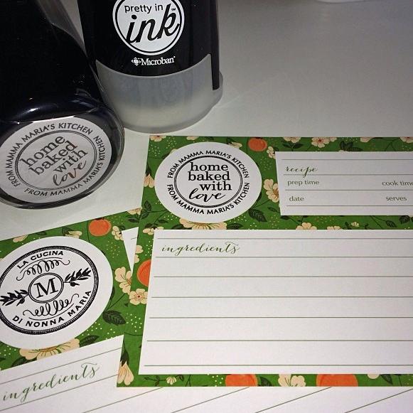 shop recipe card kitchen gift sets