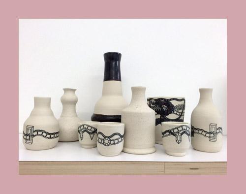 Liam Drain ceramics ($22–$60)