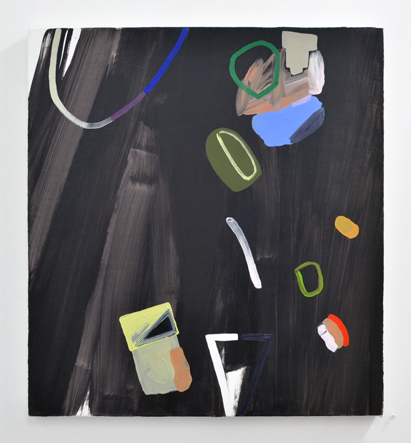 """Amy Bernstein,  Untitled , 2015, oil on canvas, 24 x 22"""", Private Collection"""