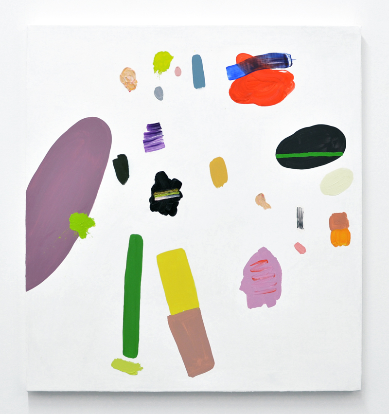 "Amy Bernstein,  Vowel Sounds , 2015, oil on canvas, 28 x 26"""
